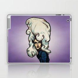 Marshmallow Hair Laptop & iPad Skin
