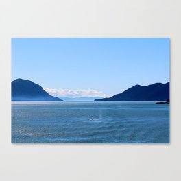 Whale Sighting Canvas Print