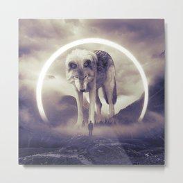 aegis II | wolf Metal Print