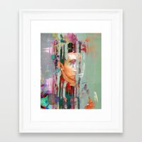 tchmo Framed Art Prints featuring Untitled 20140629s by tchmo