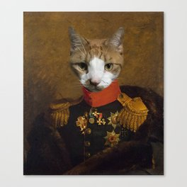 Sergeant Whiskers Canvas Print