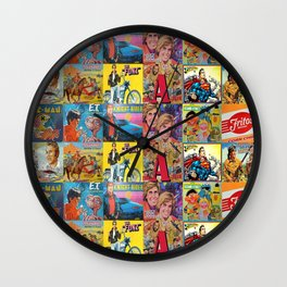 Vintage Lunch Box Wall Clock