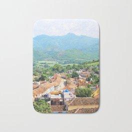 111. Mountain with colors, Cuba Bath Mat