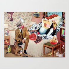 PMS Night In Canvas Print
