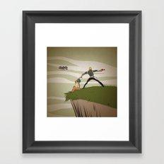 A Daring Escape Framed Art Print