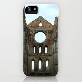 San Galgano Abbey iPhone Case