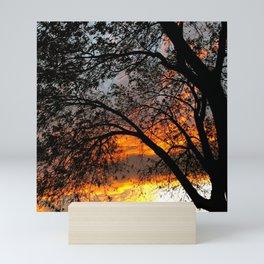 Fire in the Sky 3.0 Mini Art Print