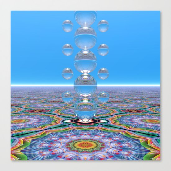 Crystal Totem Canvas Print