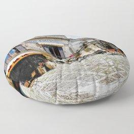Erice art 4 Floor Pillow