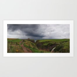 Dunnottar Castle - Scotland Art Print