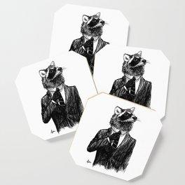 Dapper Raccoon Coaster