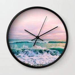 beach sunset photo Wall Clock