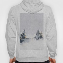 Watercolor Pine Hoody