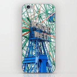 Wonder Wheel Coney Island (Brooklyn USA) iPhone Skin