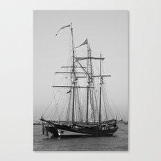 Tall Ships - Greenwich Canvas Print