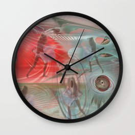 Third kind contacts Wall Clock