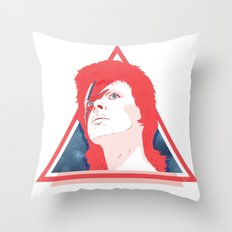 ZIGGY STARDUST Throw Pillow