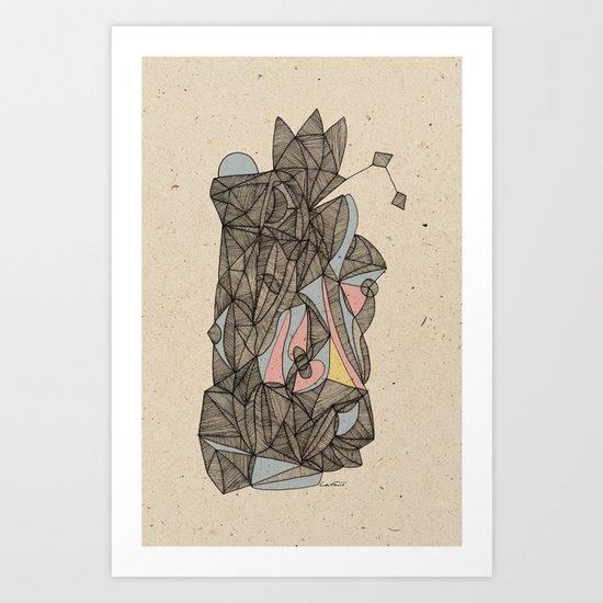 - the plan - Art Print