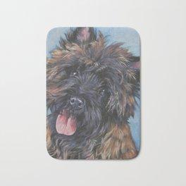 Beautiful Cairn Terrier from an original painting by L.A.Shepard Bath Mat
