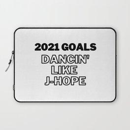 2021 Goals, Dancing like J Hope, Bts J Hope, Funny Laptop Sleeve