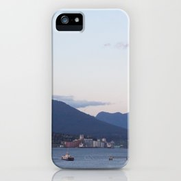 Sunset from Granville Plaza iPhone Case
