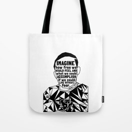 Jordan Edwards - Black Lives Matter - Series - Black Voices Tote Bag