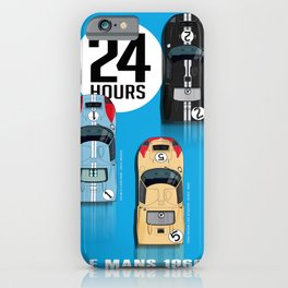 24 Hours 1966 iPhone Case