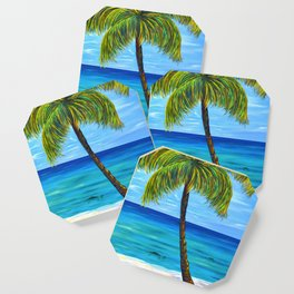 Maui Beach Day Coaster
