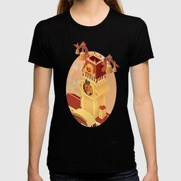 Twilight Tower (Kingdom Hearts) Isometric Art T-shirt