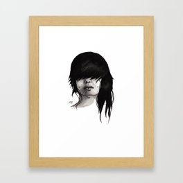 Bangz Two Framed Art Print
