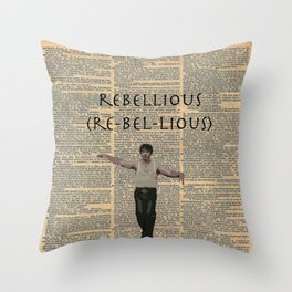 Deacon (Dictionary Page) Throw Pillow
