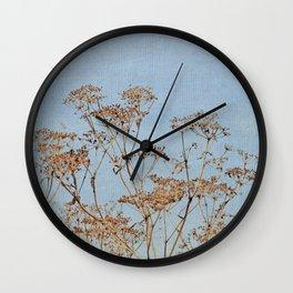 Hogweed - Almost Autumn - JUSTART © Wall Clock