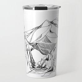 Mount Baker River Bends Travel Mug