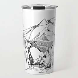 Mount Baker River Bends Travel Mug