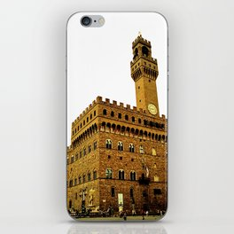 Palazzo Vecchio - Florence, Italy iPhone Skin