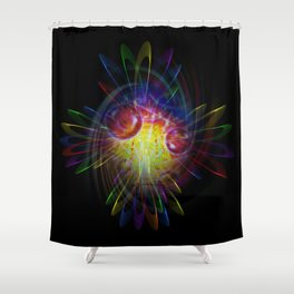 Abstract Perfektion 89 Shower Curtain