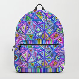 Patchwork Triangles Backpack