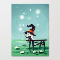 bubbles Canvas Prints featuring Bubbles by Freeminds