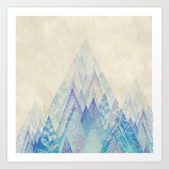 Let's Move Mountains Art Print