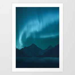 Ice Aurora Art Print