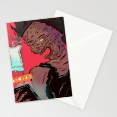 Death of a narcissist Stationery Cards