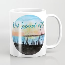 Oak Island at Sunset Coffee Mug