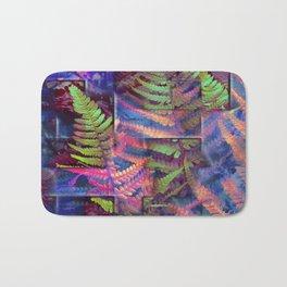 Farn abstrakt Bath Mat