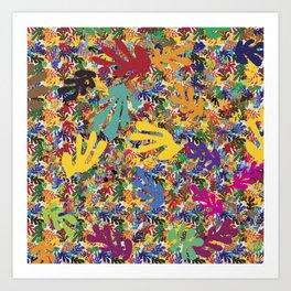 Matissey madness Art Print