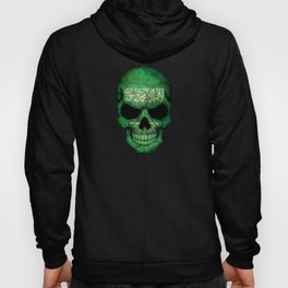 Dark Skull with Flag of Saudi Arabia Hoody
