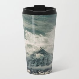 Cloud Mountain in the Canadian Wilderness Metal Travel Mug
