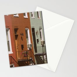 Rowhouses Stationery Cards