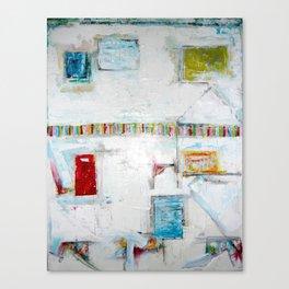 """Picket Fences"" by Simon Brushfield Canvas Print"