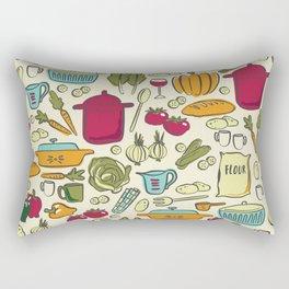 Cookin' Rectangular Pillow