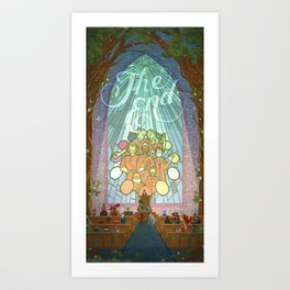 Story and Song Art Print